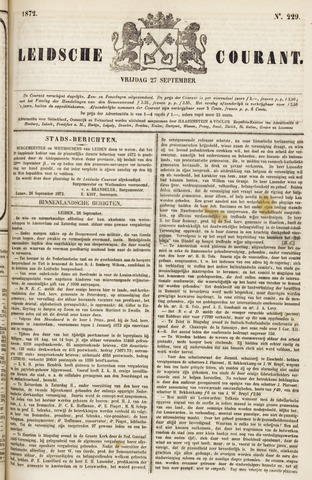 Leydse Courant 1872-09-27