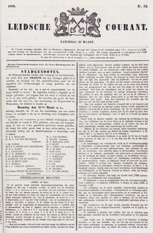 Leydse Courant 1876-03-25