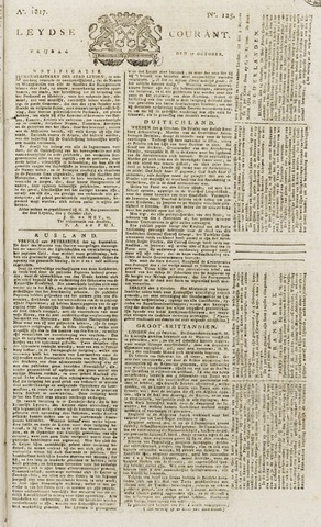 Leydse Courant 1817-10-17