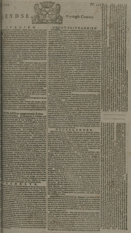 Leydse Courant 1744-10-09