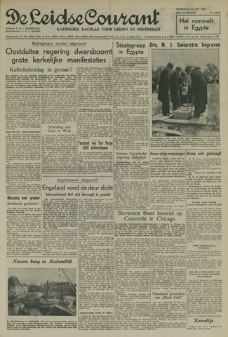 Leidse Courant 1952-07-23