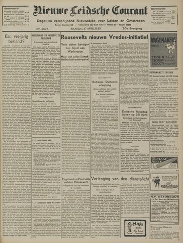 Nieuwe Leidsche Courant 1939-04-17