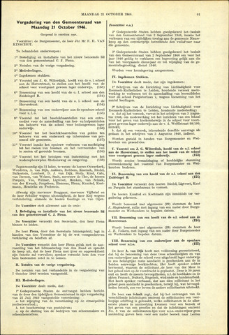 Handelingen van de Raad 1946-10-21