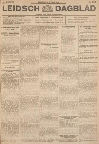 Leidsch Dagblad 1928-10-17