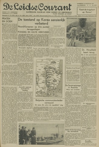 Leidse Courant 1950-08-19