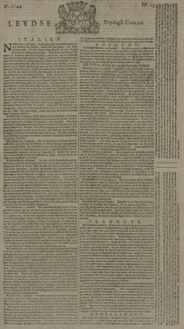 Leydse Courant 1744-02-07