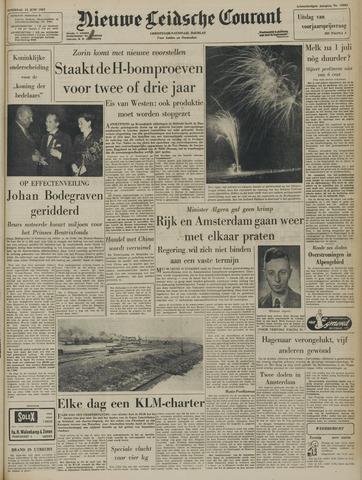 Nieuwe Leidsche Courant 1957-06-15