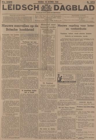 Leidsch Dagblad 1940-10-18