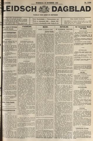 Leidsch Dagblad 1932-11-30