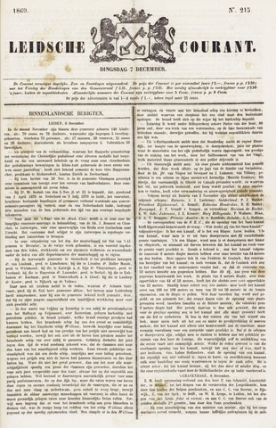 Leydse Courant 1869-12-07