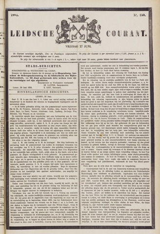 Leydse Courant 1884-06-27