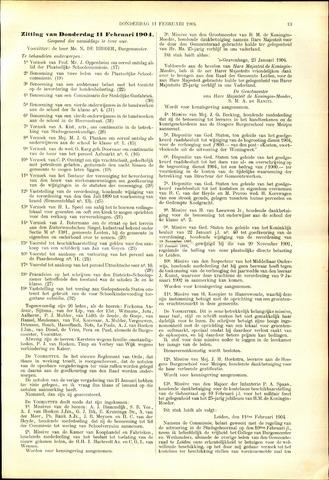 Handelingen van de Raad 1904-02-11