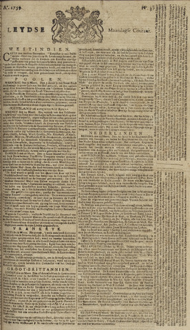 Leydse Courant 1759-03-26