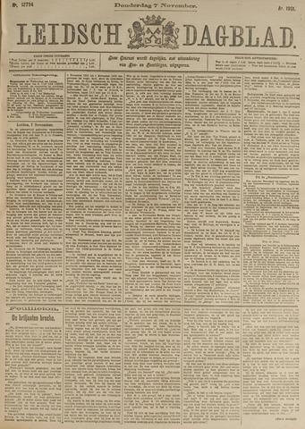 Leidsch Dagblad 1901-11-07