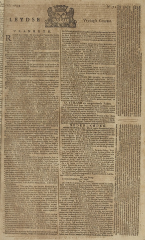 Leydse Courant 1754-06-14