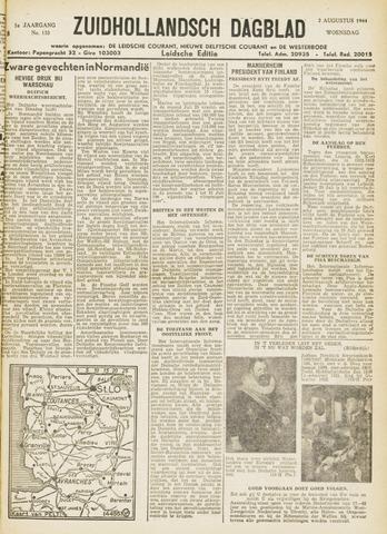 Zuidhollandsch Dagblad 1944-08-02