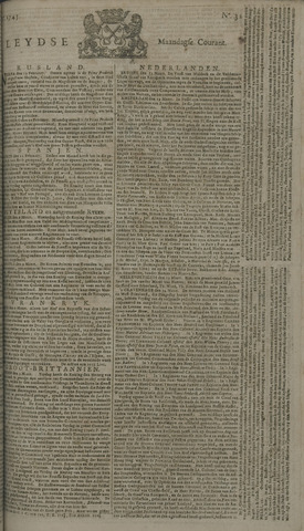 Leydse Courant 1745-03-15