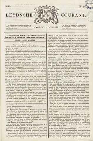 Leydse Courant 1852-12-22