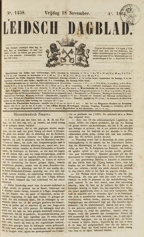 Leidsch Dagblad 1864-11-18