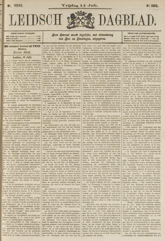 Leidsch Dagblad 1893-07-14