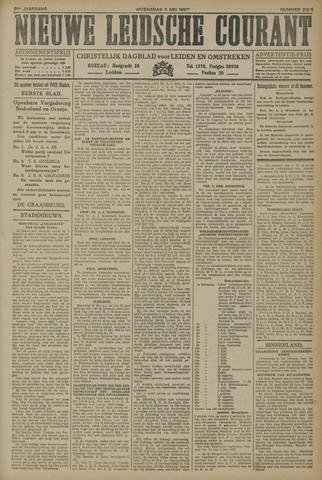 Nieuwe Leidsche Courant 1927-05-11