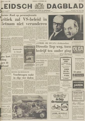 Leidsch Dagblad 1967-10-13