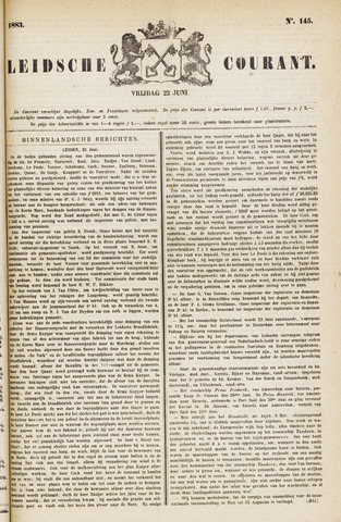 Leydse Courant 1883-06-22