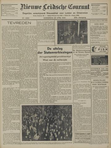 Nieuwe Leidsche Courant 1939-04-20