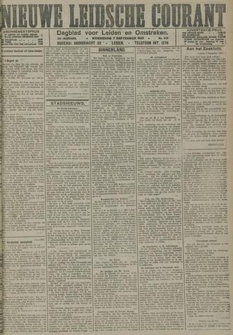 Nieuwe Leidsche Courant 1921-09-07