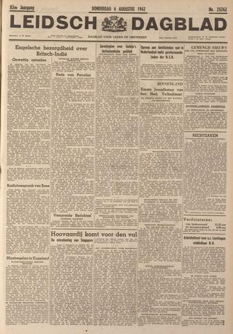 Leidsch Dagblad 1942-08-06