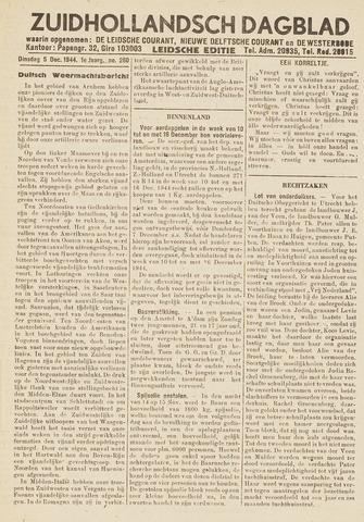 Zuidhollandsch Dagblad 1944-12-05