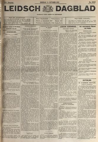 Leidsch Dagblad 1932-10-11