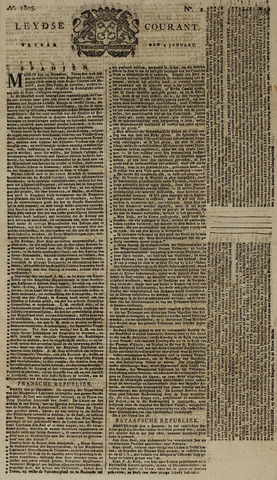 Leydse Courant 1805-01-04