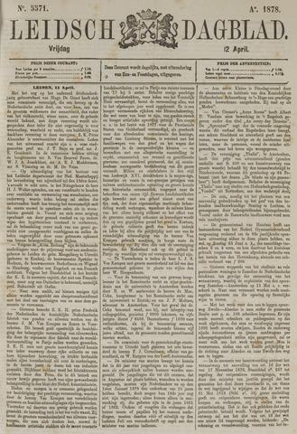 Leidsch Dagblad 1878-04-12