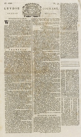 Leydse Courant 1820-04-07