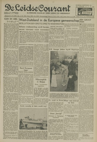 Leidse Courant 1951-09-15
