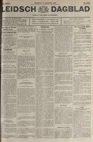 Leidsch Dagblad 1933-08-21