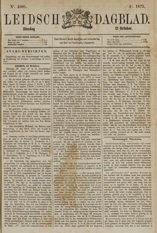 Leidsch Dagblad 1875-10-12