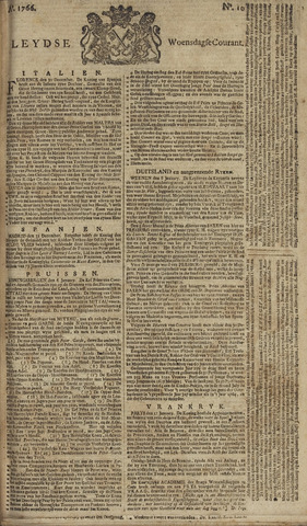 Leydse Courant 1766-01-22