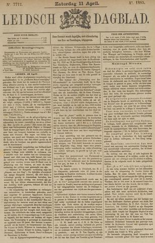 Leidsch Dagblad 1885-04-11