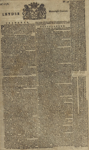 Leydse Courant 1758-08-07