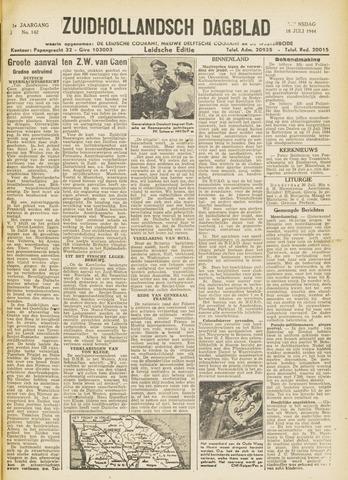 Zuidhollandsch Dagblad 1944-07-18