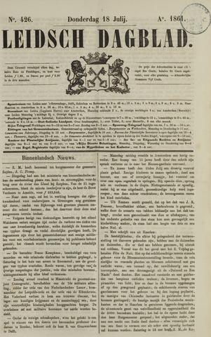 Leidsch Dagblad 1861-07-18