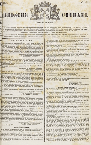 Leydse Courant 1871-07-21