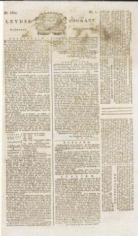 Leydse Courant 1823