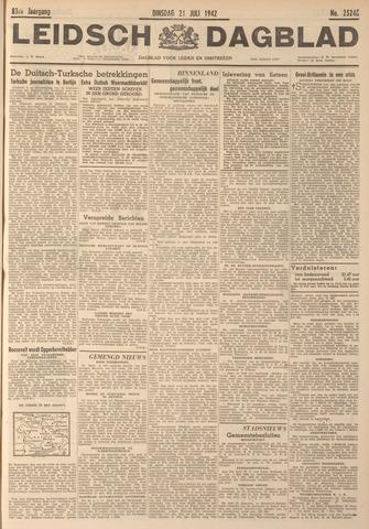 Leidsch Dagblad 1942-07-21