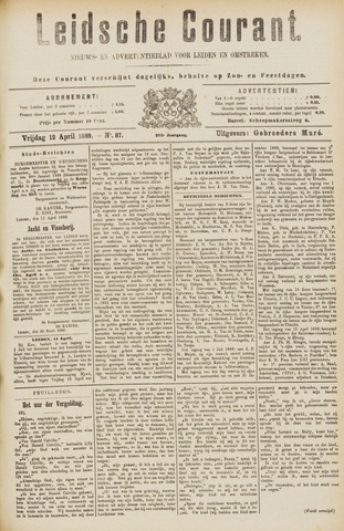 Leydse Courant 1889-04-12