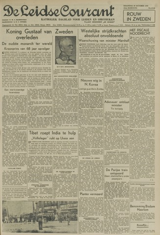 Leidse Courant 1950-10-30