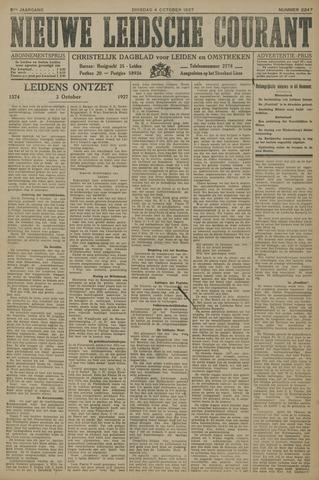 Nieuwe Leidsche Courant 1927-10-04