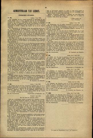 Handelingen van de Raad 1881-06-07